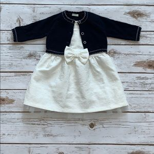 United Colors of Benetton dress with sweater